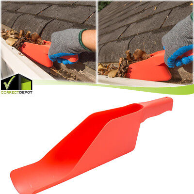 GUTTER GETTER SCOOP Cleaning Roof Tool Flex to Fit Dirt Debris Remove Multi Use