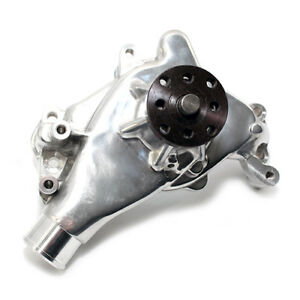 Details about #1 Polished SBC Small Block Chevy 305 327 350 400 Long Style  Aluminum Water Pump