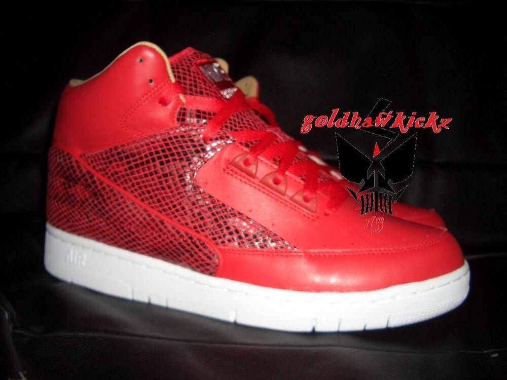 Nike Air Python Retro SP Lux Leather University Red snake flash sale Chaussures de sport pour hommes et femmes