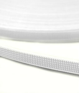 FREE P/&P 8MM EASY SEW POLYESTER BONING IN WHITE 10 MTRS