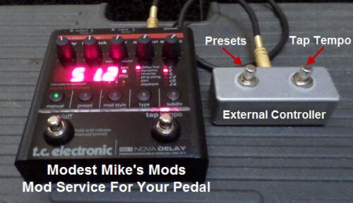 Send Us Your Pedal! TC ND-1 Nova Delay or NM-1 Mod Service