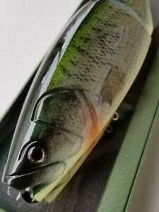 """Roman Made MOTHER triple Premium color Lure Swimbait about 11.81"""" New Unused"""