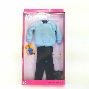 Barbie My Scene Ken Doll Outfit Clothes Black Jean Pants