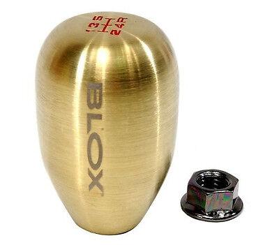 BLOX Racing NEO Chrome Type-R Counterweight Shift Knob 10x1.5mm 6-speed NEW