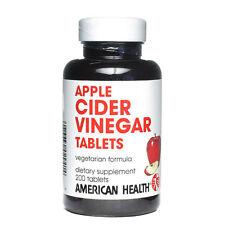 Apple Cider Vinegar, 240mg, 200 Tablets - American Health