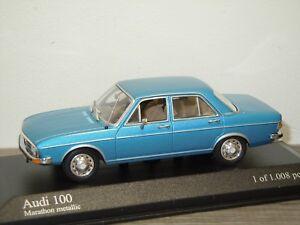 Audi-100-Saloon-1969-75-Minichamps-1-43-in-Box-34173