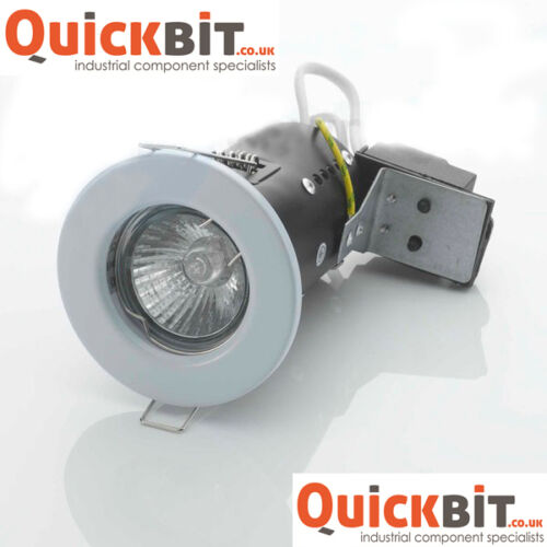 X10 Incendio Nominale downlights in Bianco GU10 240v libera luci