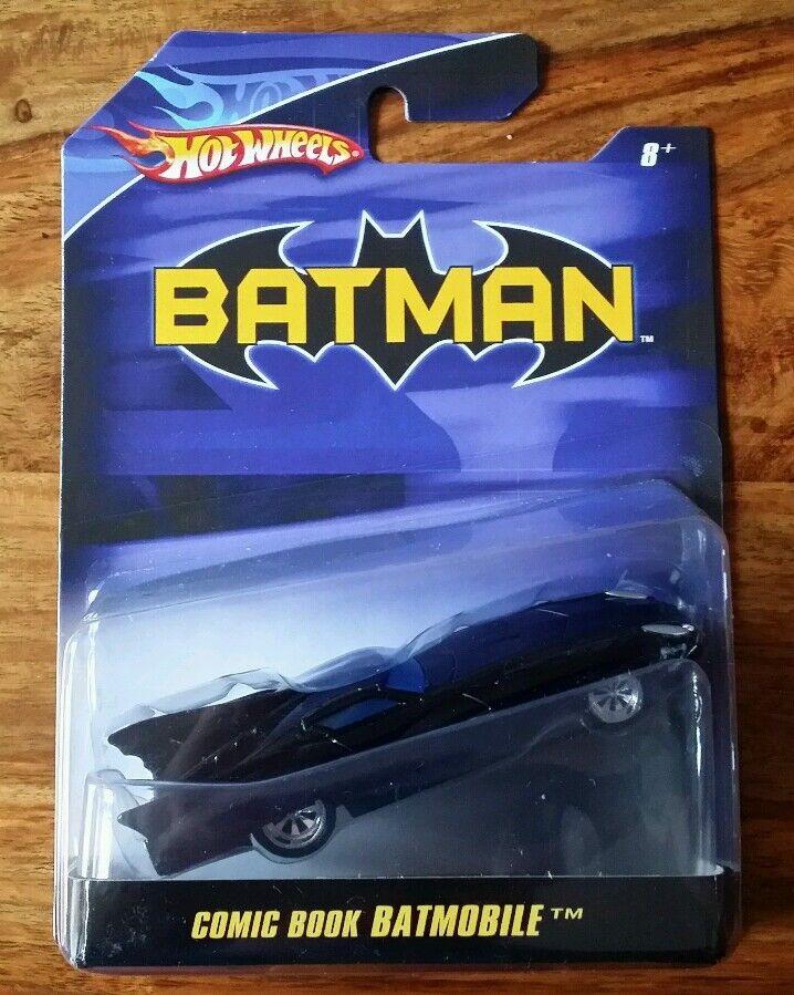 Hotwheels Batman 1 50 Scale - 2007 - Comic Book Batmobile - Uber Rare, Brand New