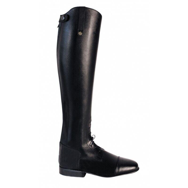 Rey reitbotas alex  negro Gr. 9 h52 w38 Spring botas con elástico int  soporte minorista mayorista