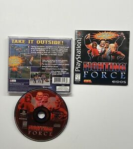 Fighting-Force-Sony-PlayStation-1-1997-COMPLETE-TESTED-PS1