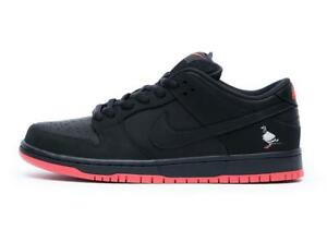 85122700e Mens Nike SB Dunk Low TRD QS Pigeon Jeff Staple Black Sienna 883232 ...
