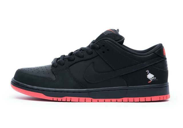 quality design 4c692 9ee07 ... italy mens nike sb dunk low trd qs pigeon jeff staple black sienna  883232 008 efd63