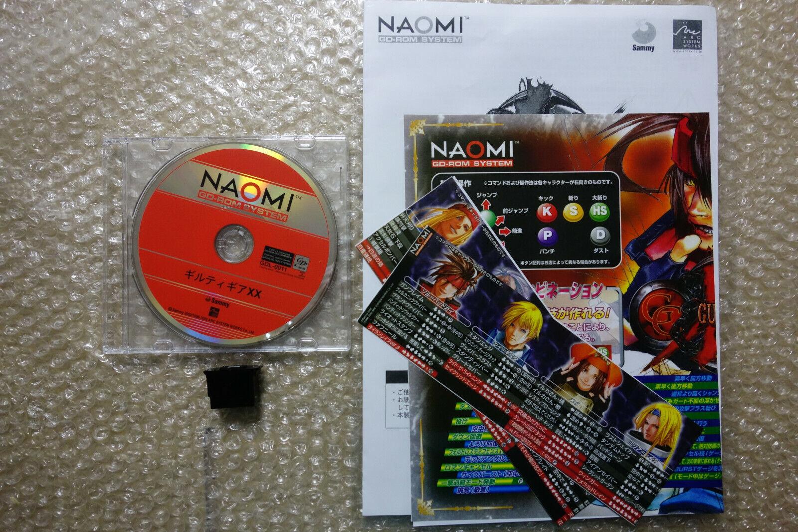 Guilty Gear XX Sega Naomi GD Rom Are Game Japan