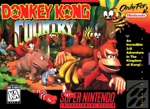 Donkey Kong Country 1, 2 or 3 - SNES Super Nintendo - Cart Only - New Condition