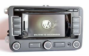 2018 v10 vw rns315 dab bluetooth golf passat cc tiguan t5. Black Bedroom Furniture Sets. Home Design Ideas