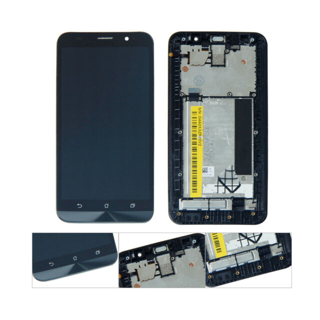 5e742d504bd For ASUS Zenfone 2 ZE551ML Display LCD Touch Screen Digitizer With Frame