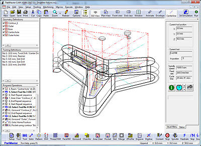 Dolphin PartMaster CAD CAM CNC Milling software CNC Programming CAD/CAM |  eBay
