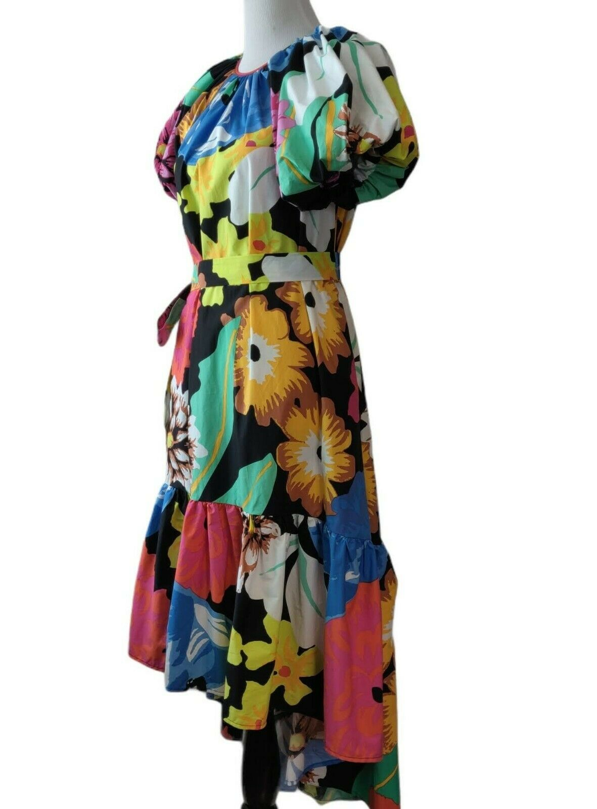 Christopher John Rogers Target Womens Floral Puff… - image 3