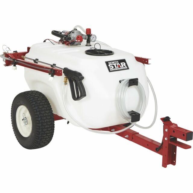 NorthStar 41Gal  Tow-Behind Trailer Boom Broadcast and Spot Sprayer-4GPM  12VDC