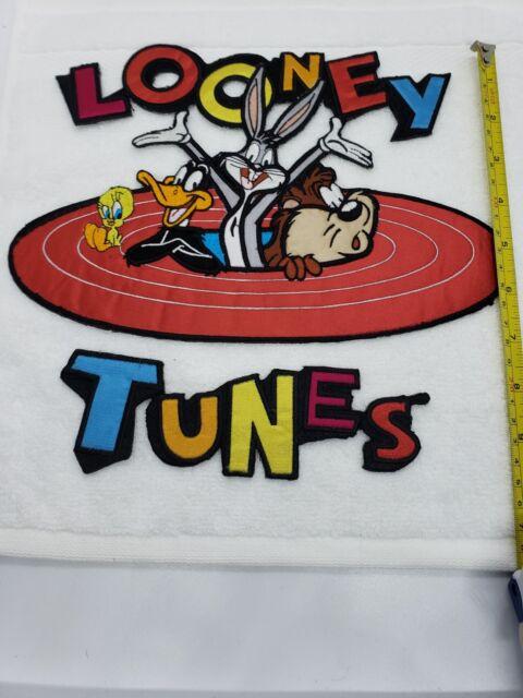 TAZ TWEETY Bullseye iron on vintage DAFFY LARGE Looney Tunes Patch BUGS BUNNY