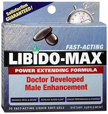 Applied Nutrition LIBIDO-MAX For Men Liquid Soft-Gels 30 Soft Gels (Pack of 2)