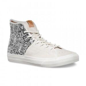 845bc3ff32 VANS Sk8 Hi Decon SPT CA (Italian Weave) Blanc de Blanc White Men s ...