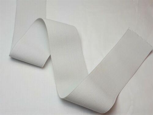 Webgummi Gummiband Flachgummiband Weiss 7,10,15,20,25,30,40,50,60mm ab 0,75€//M