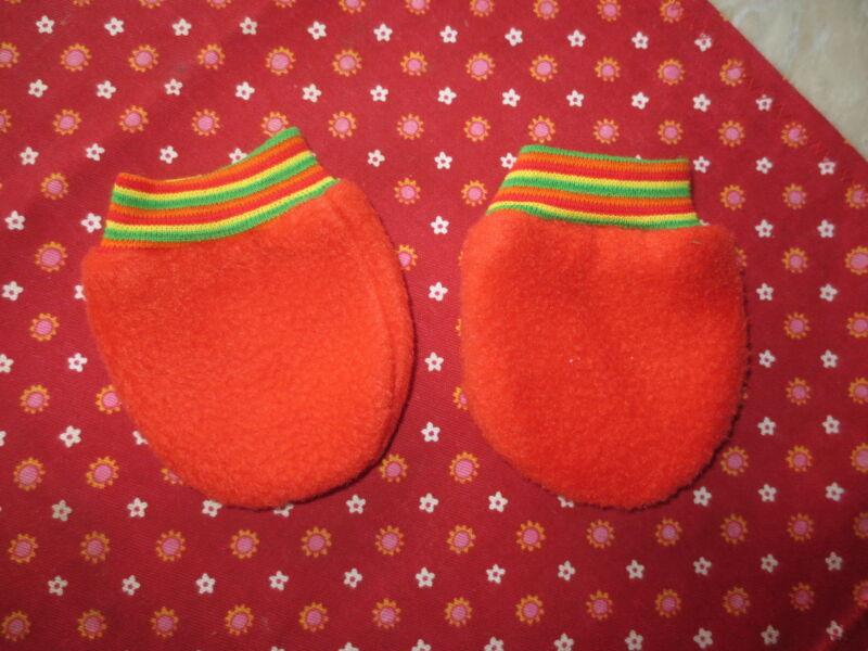 Fäustlinge, Handschuhe Für Babys - Frühchen , Handarbeit, Neu!