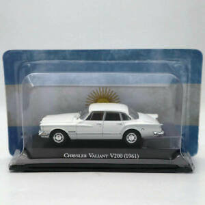 IXO-ALTAYA-1-43-Chrysler-Valiant-V200-1961-Modelos-Diecast-Blanca-Edicion-Limitada