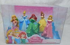 Disney Figuren Bullyand PRINCEss Rapunzel Belle SChneewittchen Arielle Bump