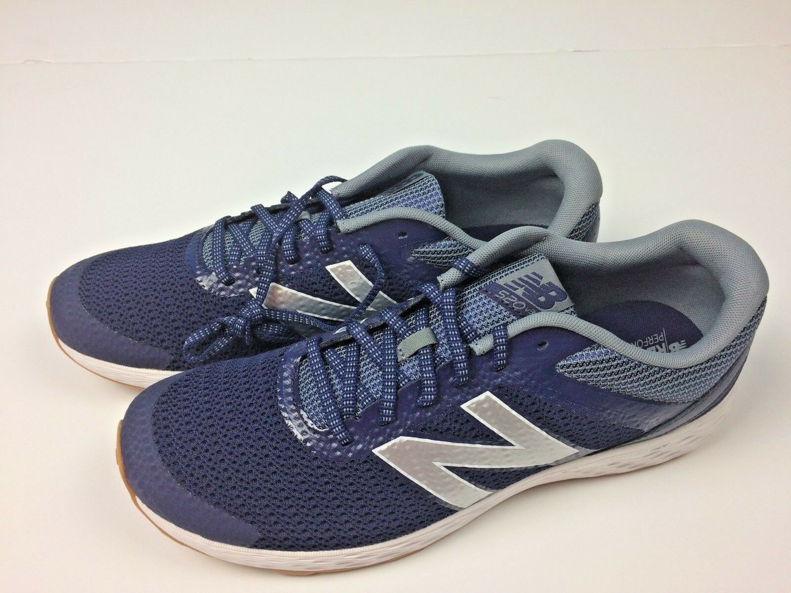 New Balance 520 Comfort Ride Men's Blue & White Running Shoes Sz 12