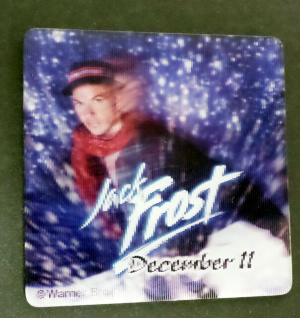 Jack Frost (Fridge,Magnet,Snowman,Movie,Christmas,Michael,Keaton)
