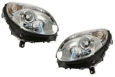 Mercedes-Benz Pair Set of Left and Right Halogen Headlights Hella New