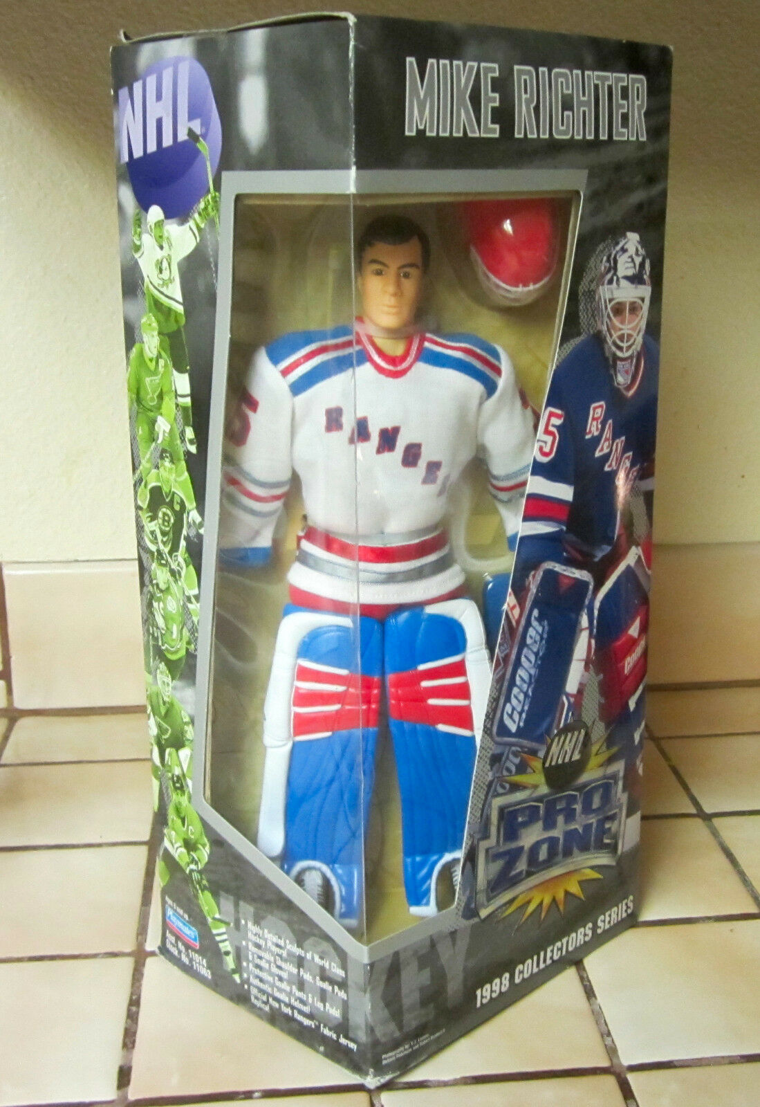 NHL PRO ZONE New York Rangers MIKE RICHTER 1998 Collectors Series NEW