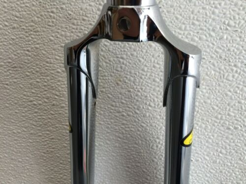 "Fork,1/""threaded,lugged,chromed 26.4crown,Curved;Custom Steerer Length /& threads"