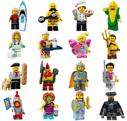 NEW LEGO SERIES 17 COMPLETE SET MINIFIGS new minifigures 71018 16 figures