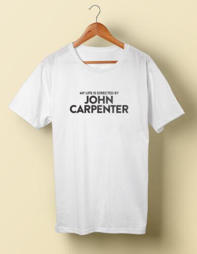 Ma vie est dirigé par John Carpenter Shirt Horreur S M L XL 2X 3X 4X 5X