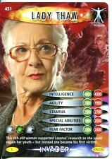 Doctor Who Battles In Time Invader #451 Lady Thaw