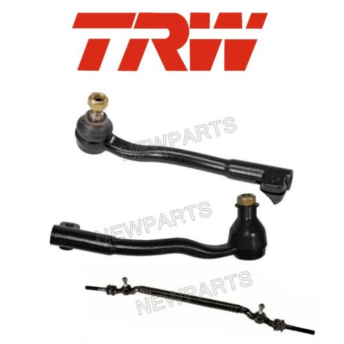 For BMW E38 740i 740iL Set of Left /& Right and Center Tie Rod Assemblies TRW OEM