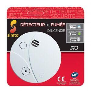DETECTEUR-DE-FUMEE-SIMTO-NF-CE-1-ANS-PILE-9V-INCLU