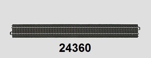 Märklin H0 24360 C Track Straight 360 mm - New