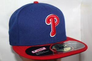 Image is loading Philadelphia-Phillies-New-Era-MLB-Authentic-Collection- 59Fifty- 9b31828bc61