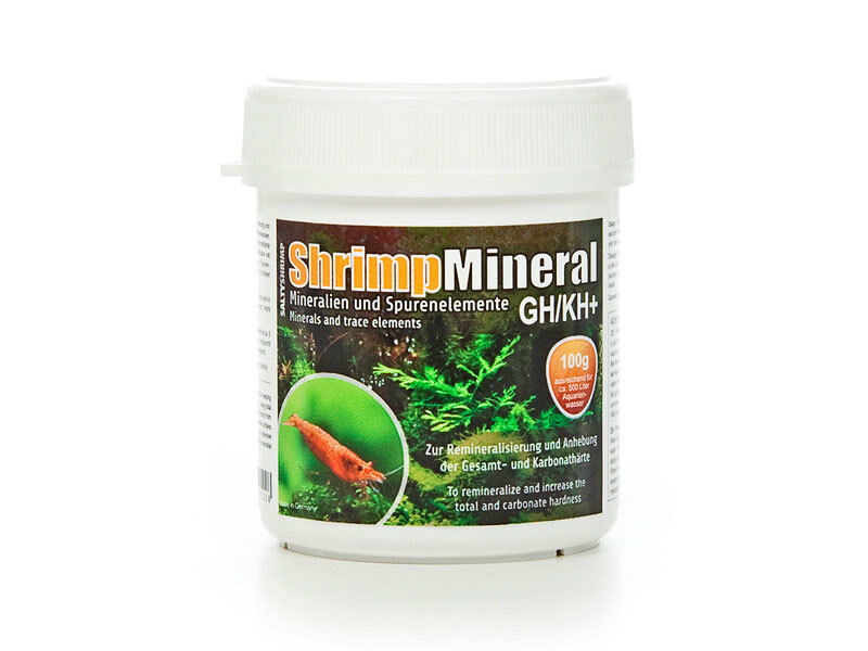 Salty Shrimp GHKH Minerals and Trace Elements TigerNeocaridina Shrimp Tank