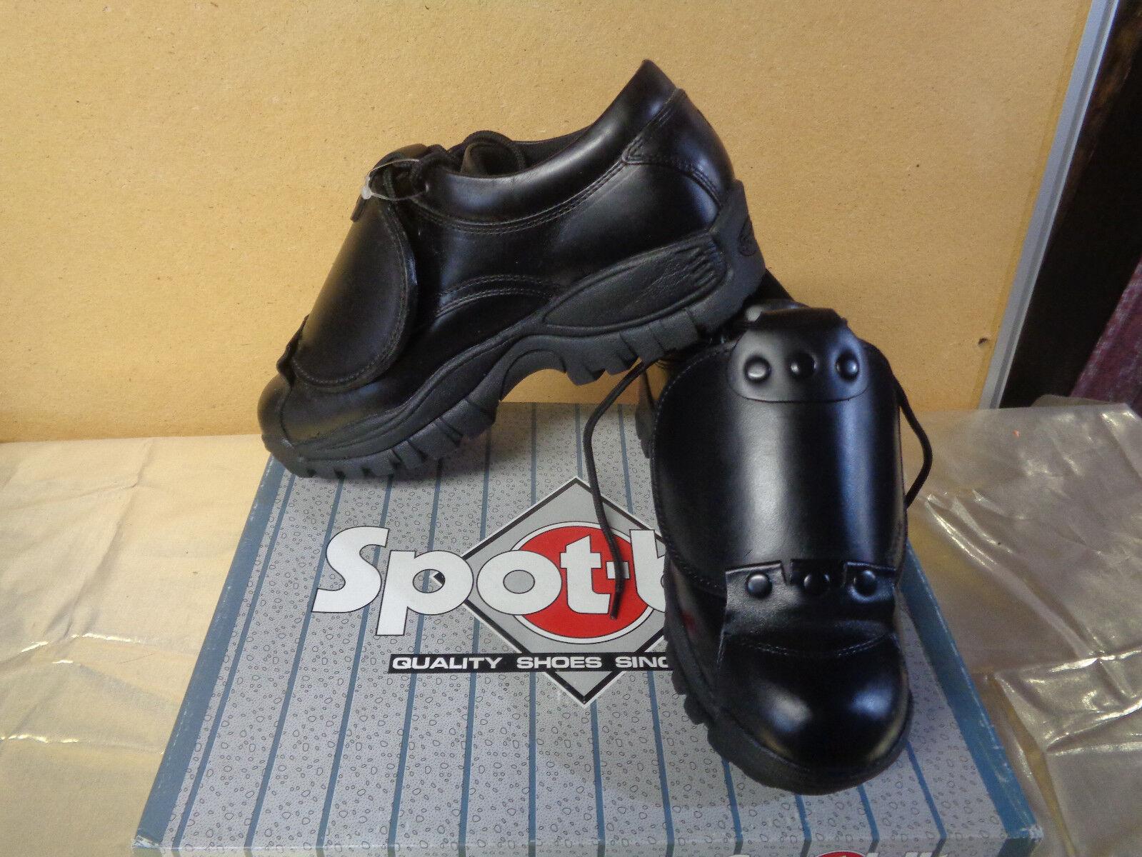 Spot Bilt Umpire Low Mens Black shoes U53-8 Size 8