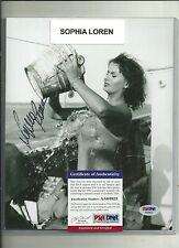 2016 Leaf POP Century 8x10 Signed Photo Sophia Loren PSA DNA AUTO Autograph