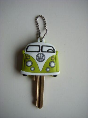 Key Caps VW Camper Van jaune Yale Clé Fantaisie Cadeau GRATUIT UK POSTE £ 2.95