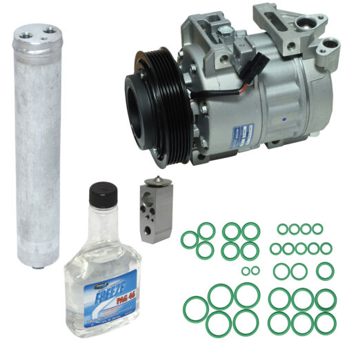 Kit: NEW AC Compressor New Expansion Valve Pag Oil Oring New Receiver Drier
