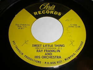 Ray-Franklin-And-His-Orchestra-Sweet-Little-Thing-Mercy-45-Funk-Soul