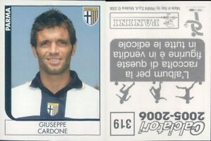 CALCIATORI-PANINI-2005-06-Figurina-sticker-N-319-NEW