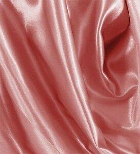 """10 Yards Shiny Bridal Satin Fabric 60/"""" Dusty Rose"""